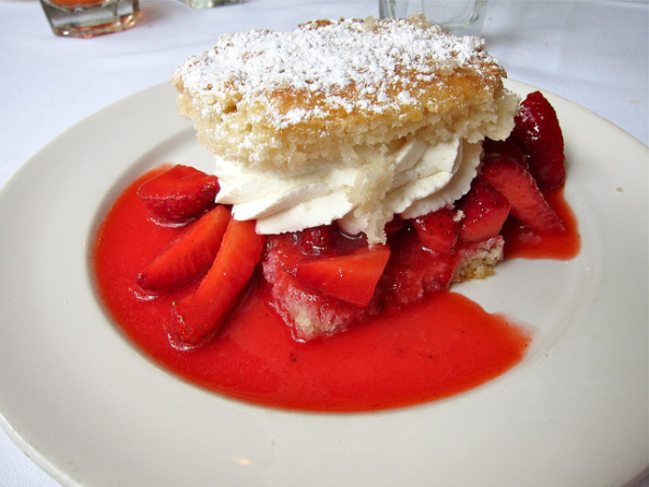 Ponchatoula strawberry shortcake