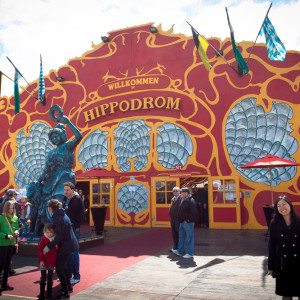 Hippodrom tent